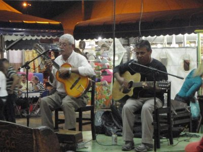 Live music at the markets