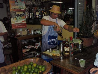 Making the best Caprihini's in Rio!