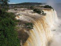 Iguazu Falls up close