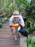 Ben and Mr Tucan!