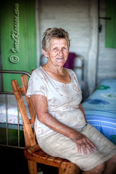 An elderly Villager