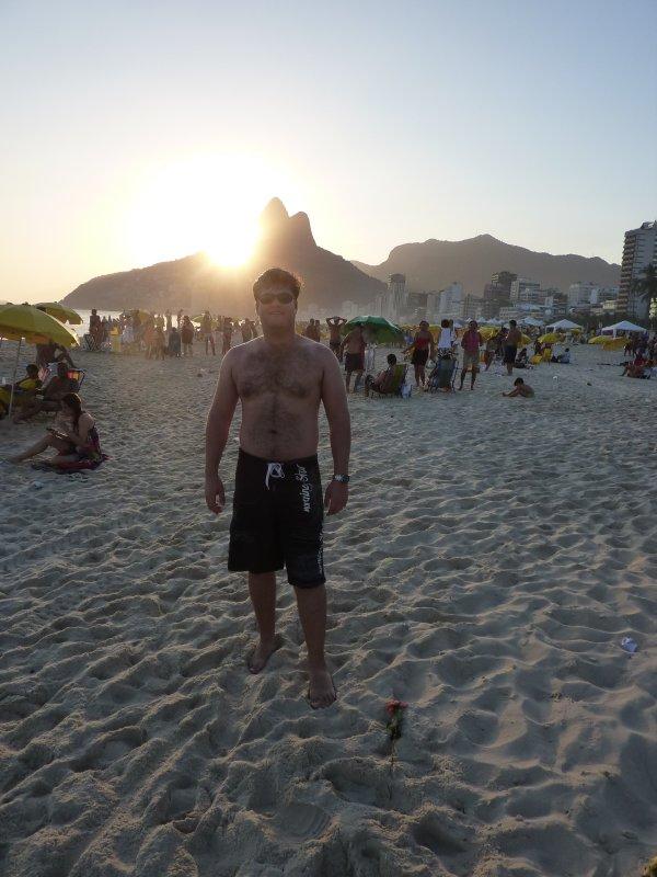 Sunset with Tim