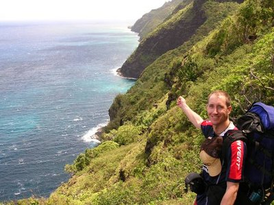 Crossing Over the Napali Coast