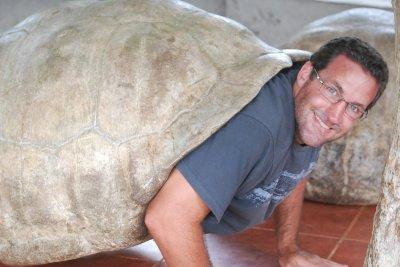 Los Ranchos - Seth the tortoise