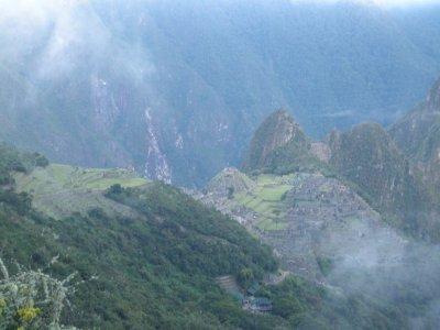 Approaching Machu Picchu