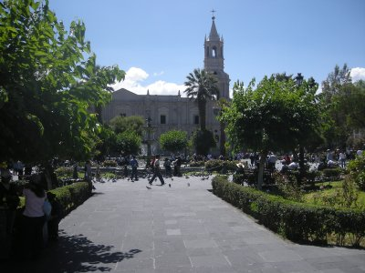 Arequipa town centre