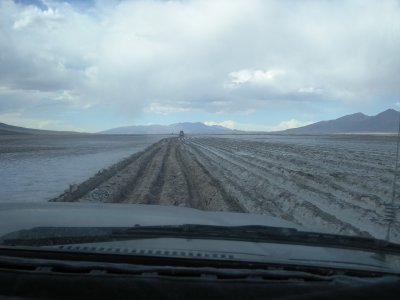 Bumpy desert ride