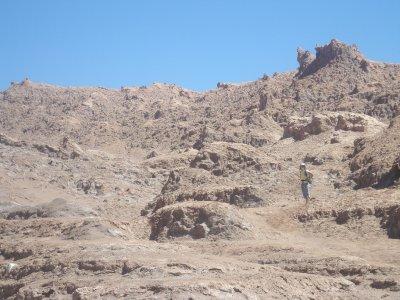 Canyon in Valle de Luna