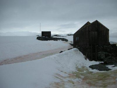 Out of Service British Antarctica Survey Hut- Detaille Island