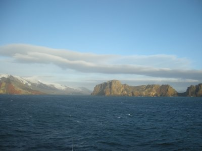 Deception Island- Neptunes Bellows- Entrance into Culdera