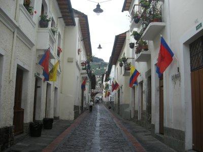 La Ronda part of Quito