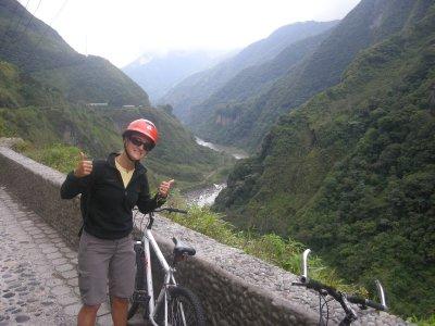 Mountain biking Ruta des Cascadas