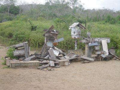 Post office bay - Pirates mailbox