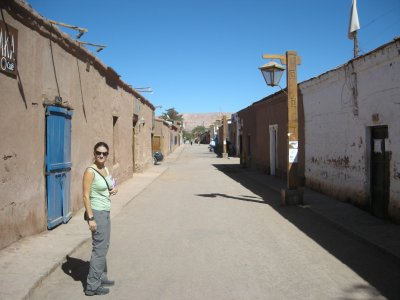 Street view- San Pedro de Atacama