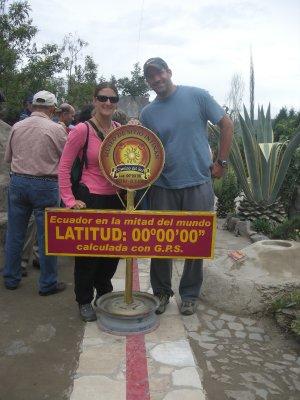 The actual Equator
