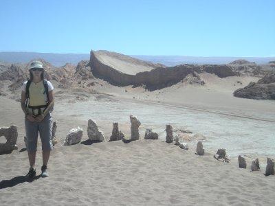 The ampitheatre- Valle de Luna