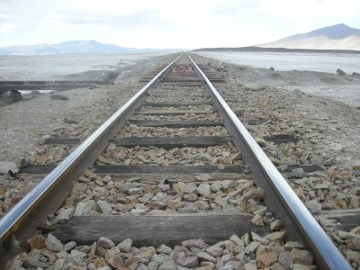 Train line to nowhere