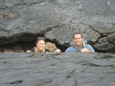 santiago crack in the lava