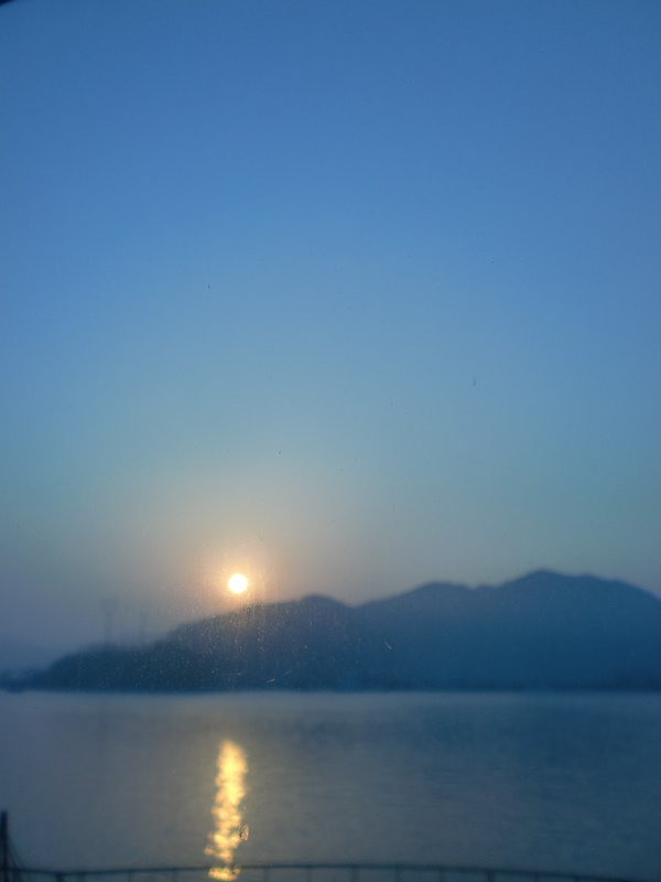 Sunrise in Xiang Shan when I couldn't sleep