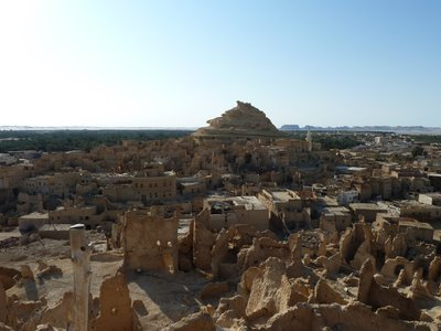 Old Shali ruins at Siwa