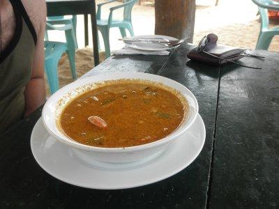 Lunch at Hikkaduwa
