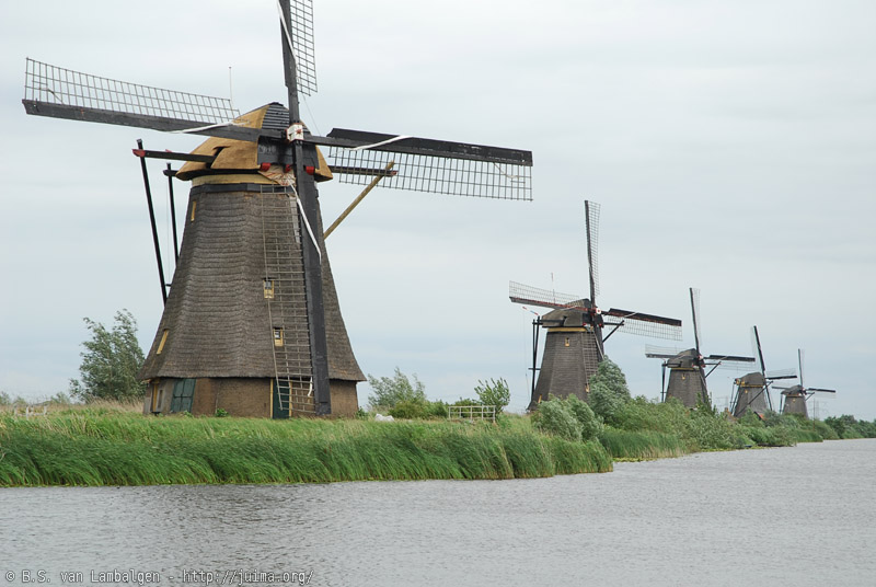 Windmills at Kinderdijk