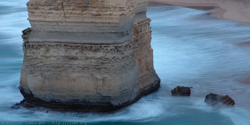 Base of one of the Twelve Apostles