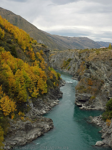 Autumn at the Kawarau Gorge