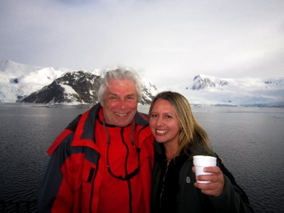 With Stefan, expedition leader