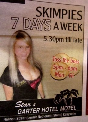 Happy hour has a very different meaning here, do what to the boss?