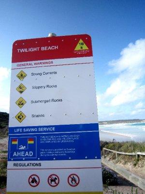 Safe beach then!