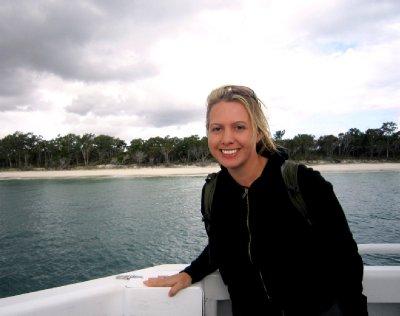 Fraser Island behind me