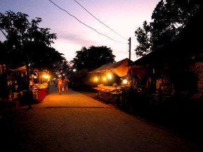 Main street of Koh Lipe