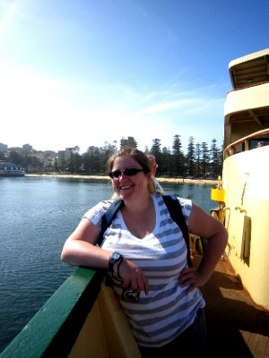 Dawn on the Manly ferry