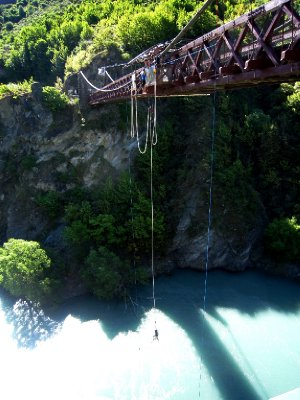First ever bungy