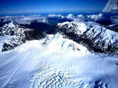 Tope of Fox glacier