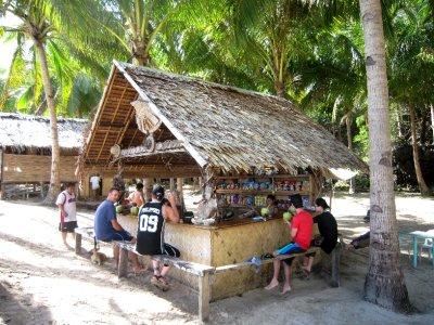 Commando beach bar