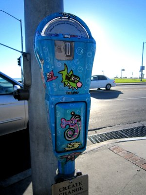Laguna beach, parking meter