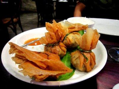 Pork sisig, manila trendy restaurant style