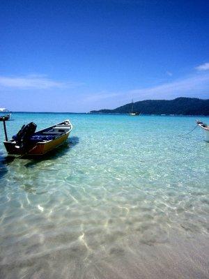 Pretty beaches