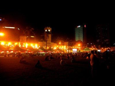Merdeka square for the big match