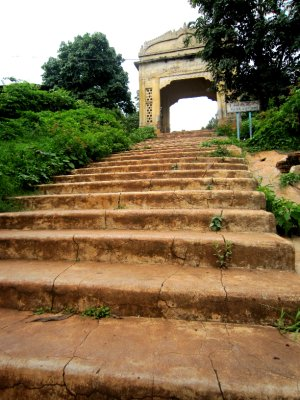 Wonder where these steps lead