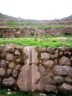 Moray Incan agricultural 'laboratory' Irrigation channels