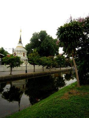 Pretty Chiang Mai moat
