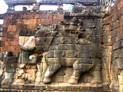 Elephant Terrace, Angkor Thom