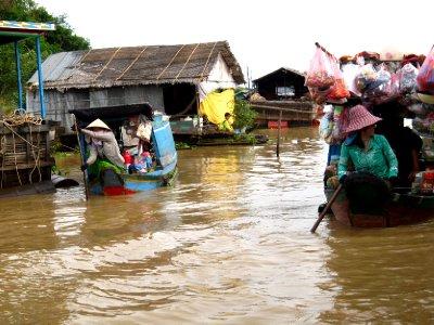 Floating shops