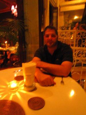 In the cuban bar