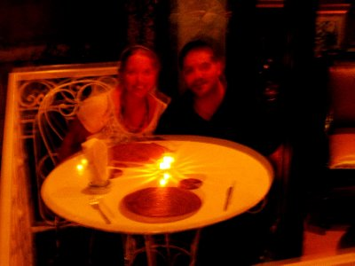 as blurry as we were this evening!