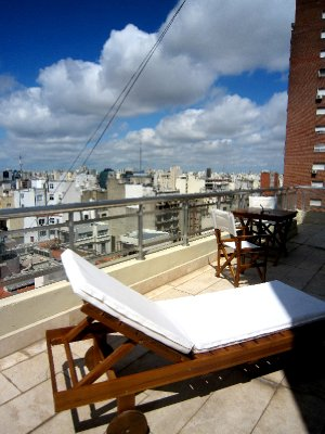Sundeck of my penthouse, Buenos Aires