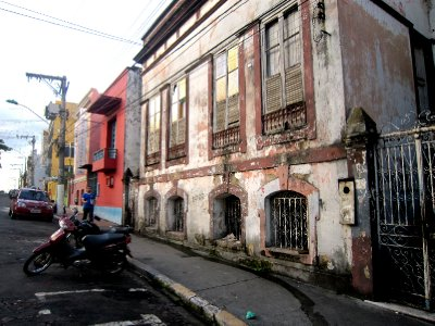 The streets of Manaus